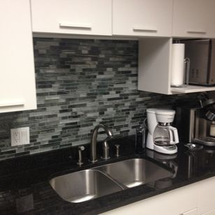 Office Kitchen Backsplash